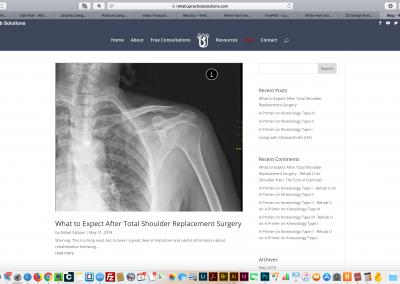 Rehab U Blog Page