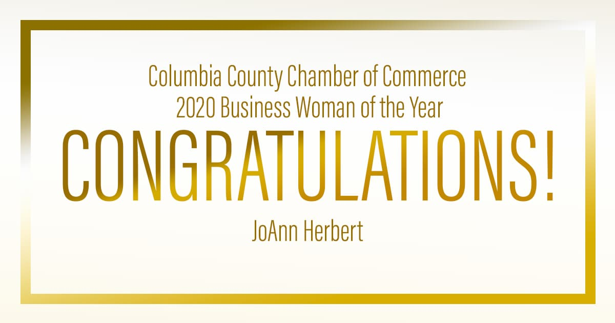 Congratulations to Our Client JoAnn Herbert